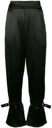 Sid Neigum buckled high waisted trousers