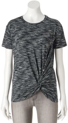 Women's Apt. 9® Twist Tee $30 thestylecure.com