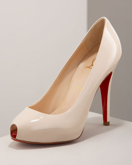 Christian Louboutin Hidden-Platform Pump