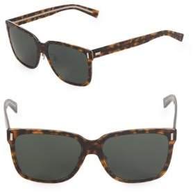 Christian Dior 57MM Square Sunglasses