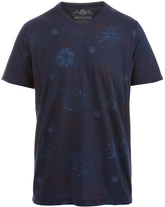 American Rag Men's Firework T-Shirt, Created for Macy's