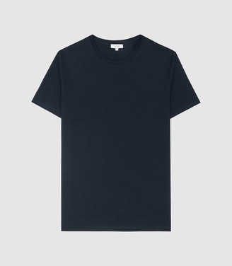 Reiss Bless - Crew Neck T-shirt in Navy