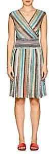 Missoni Women's Metallic Striped A-Line Dress