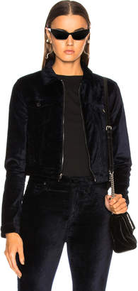 Cotton Citizen for FWRD Velvet Crop Utility Jacket
