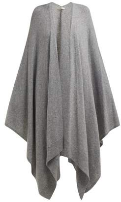The Row Hern Cashmere Cape - Womens - Grey