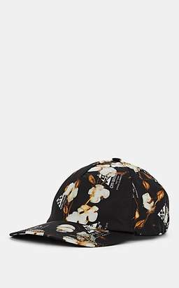 4dba690e580da Off-White Women s Floral Nylon Baseball Cap - Black