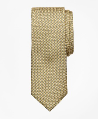 Brooks Brothers Two-Color Ring Print Tie