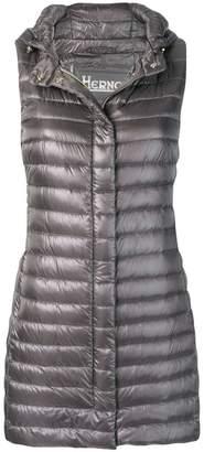 Herno mid-length padded vest