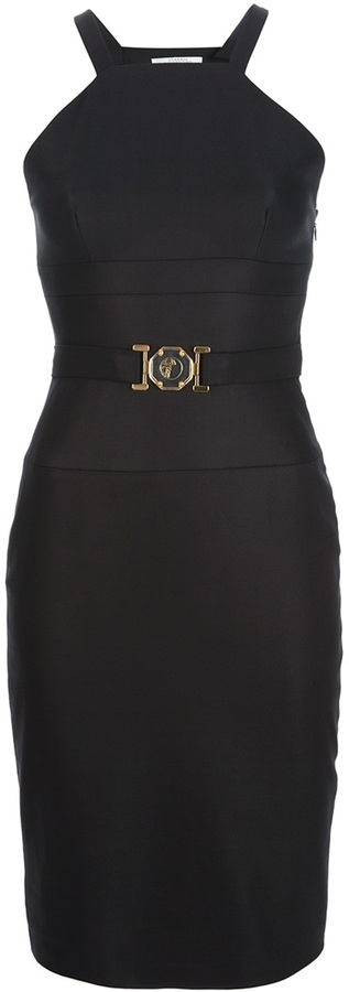 Versace bandaged bodycon dress