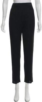 Pleats Please Issey Miyake Pleated High-Rise Pants