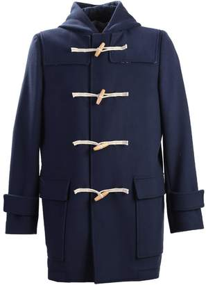 MSGM Virgin Wool Duffel Coat