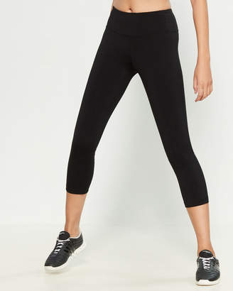 90 Degree By Reflex Black Lace-Up Performance Leggings