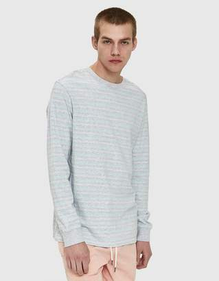 Insight Subversion LS Tee in Grey Marle