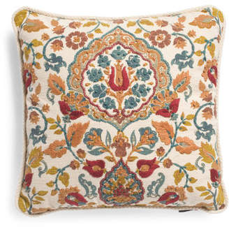 Made In India 20x20 Medallion Pillow