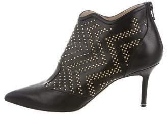 Nicholas Kirkwood Embellished Pointed-Toe Ankle Boots