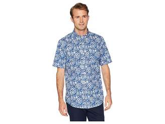 Chaps Short Sleeve Printed Woven Shirt Men's Clothing