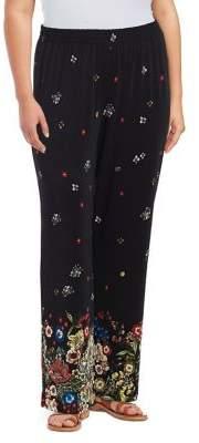 Context Plus Floral Graphic Pants