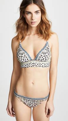 Camilla High Triangle Bikini Top