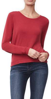 Good American The Back Plunge Pullover -
