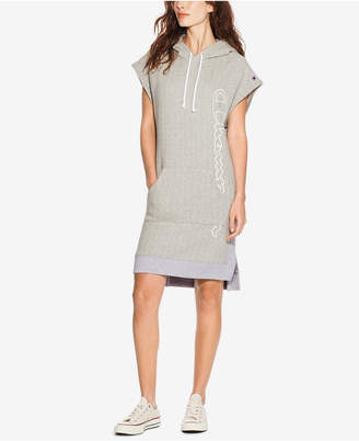 Champion Reverse Weave Colorblocked Hoodie Dress