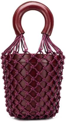 Staud net-layered bucket bag