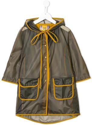 tMumofsix transparent raincoat