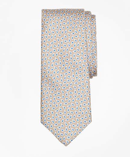 Brooks Brothers Panama Pine Print Tie