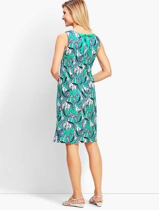 Talbots Giraffe-Print Shift Dress