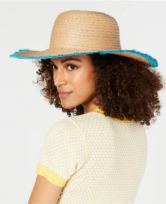 INC International Concepts Inc Pop Fray Edge Floppy Hat