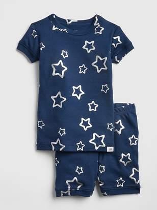 Gap Metallic Star Short PJ Set