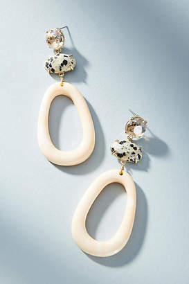 Anthropologie Schaffer Resin Drop Earrings