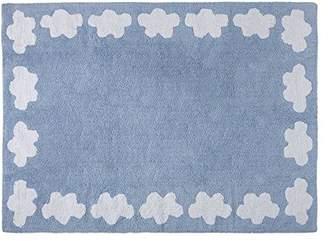 Equipment Lorena Canals Cenefa Nubes Washable Rug (Blue)
