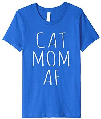 Cat Mom AF Funny Cat Shirt For Cat Lover | Christmas Cat Tee