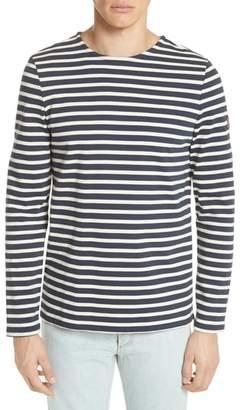 A.P.C. Mariniere Matt Stripe Long Sleeve T-Shirt