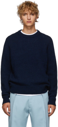 Acne Studios Navy Wool Kai Sweater