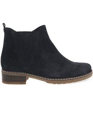 Gabor Dorothy Womens Suede Ankle Boots