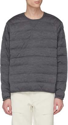 Nanamica Wool down puffer sweater