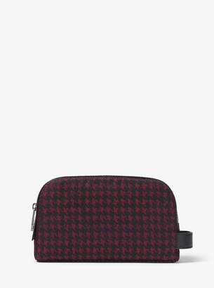 Michael Kors Kent Small Printed Nylon Travel Pouch