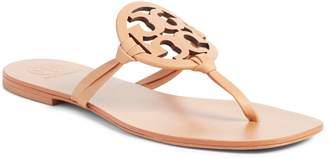 Tory Burch Miller Logo Thong Sandal