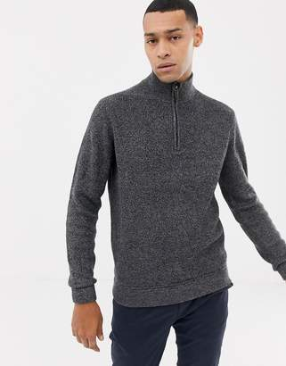 Ted Baker funnel neck sweater in twisted yarn