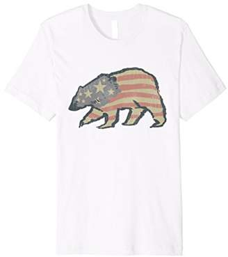 American Flag Shirt USA T Tee 4th Of July Clothing Fourth