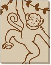 Monkey on Canvas