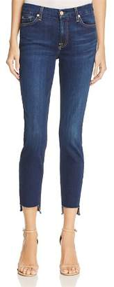 7 For All Mankind Ankle Skinny Jeans with Step Hem in Duchess – 100% Exclusive