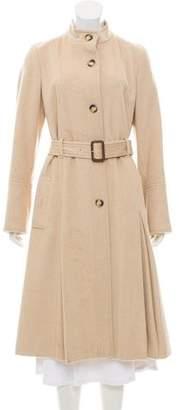 Burberry Camel Long Coat