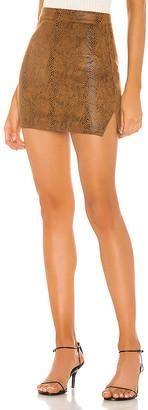 superdown Stella Slit Mini Skirt