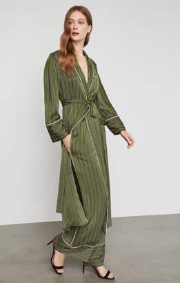 BCBGMAXAZRIA Striped Satin Pajama Pant