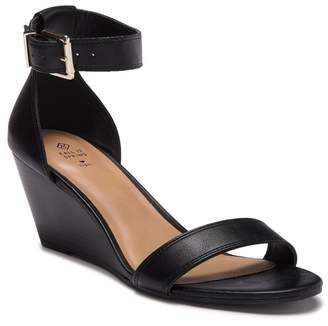 Call it SPRING Abaussa Open Toe Wedge Sandal
