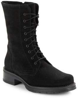 La Canadienne Ginny Waterproof Lace-Up Suede Boots