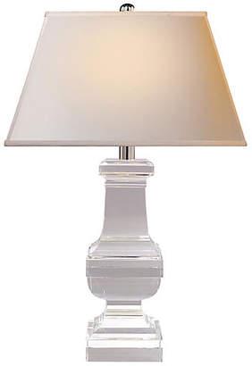 Visual Comfort & Co. Square Balustrade Table Lamp - Crystal