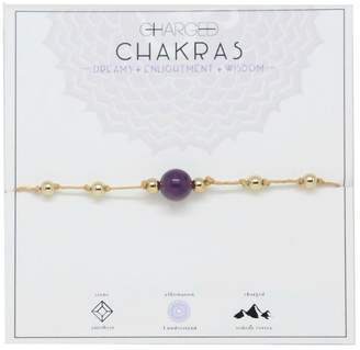 Charged Amethyst Chakra Bracelet